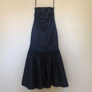 Navy blue Bari Jay bridesmaid dress sz 4